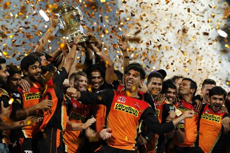epl in india ipl david warner s srh celebrate in style after clinching