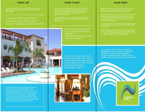 Free Brochure Design Templates Make Your Own Brochure Create Your Own Brochure Templates Free