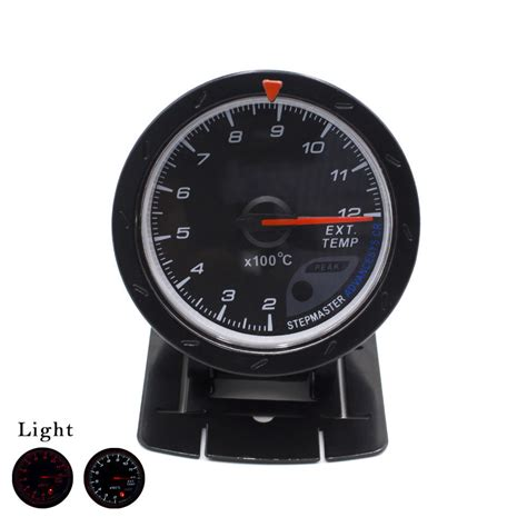 Indicator Defi Cr aliexpress buy 60mm racing car exhaust gas temperature with sensor indicator