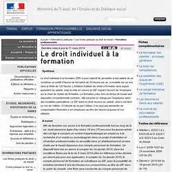 Credit Formation Dif Droit Du Travail L Entreprise Pearltrees