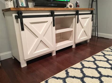 Kitchen Cabinet Hardware Canada by 9 Free Tv Stand Plans You Can Diy Right Now