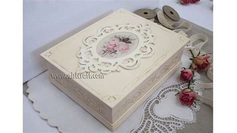 Decoupage tutorial   DIY. How to decoupage box with