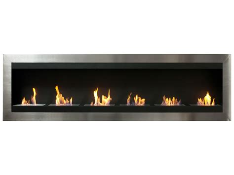 ethanol fireplace inserts 82 75 quot ignis maximum wall mounted ventless ethanol fireplace
