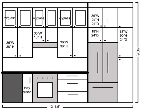 standard kitchen cabinet sizes kitchen cabinet dimensions standard drawing exitallergy com
