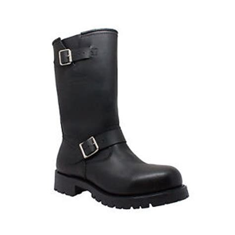 size 14 motocross boots mens engineer leather riding motorcycle biker boots sizes
