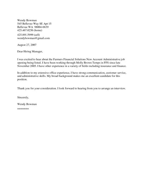 best ideas of job posting cover letter samples about sample cover