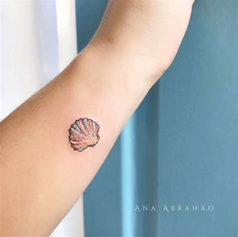 small seashell tattoo 100 designs just can t resist
