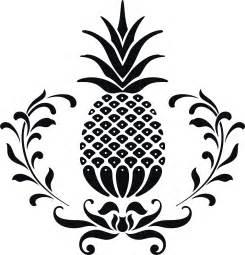 pineapple silhouette 121 pineapple silhouette tiny clipart