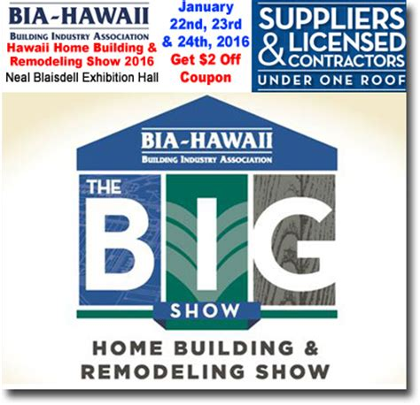 promo code for home design and remodeling show bia home building remodeling show 2016 coupon discount