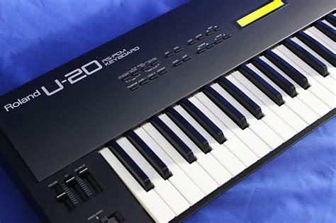 Keyboard Roland U20 roland u20 used reverb