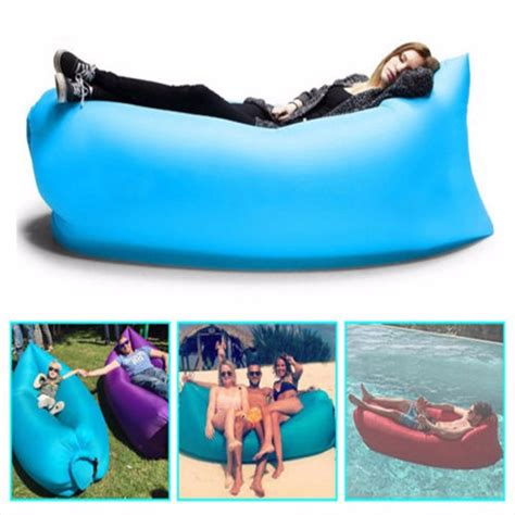 how to go to bed fast large sofa fast inflatable lazy air sleeping bag for