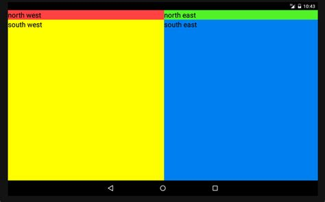 gridlayout javadoc gridlayout not filling rows evenly android stack overflow