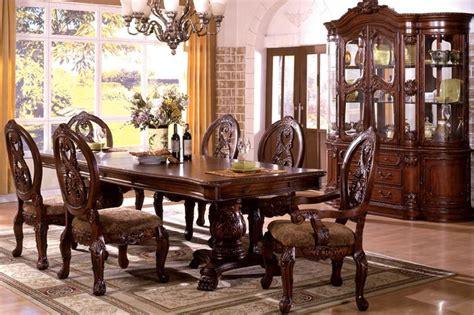 copper trestle dining table farmhouse room