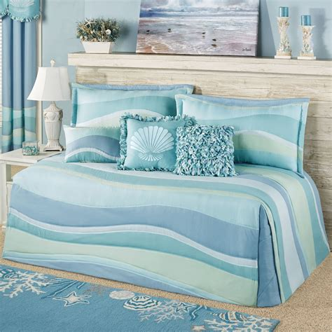 coastal bedding set ocean tides coastal daybed bedding set