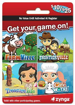 Farmville Gift Cards - zynga combo cards now available at gamestop walgreens