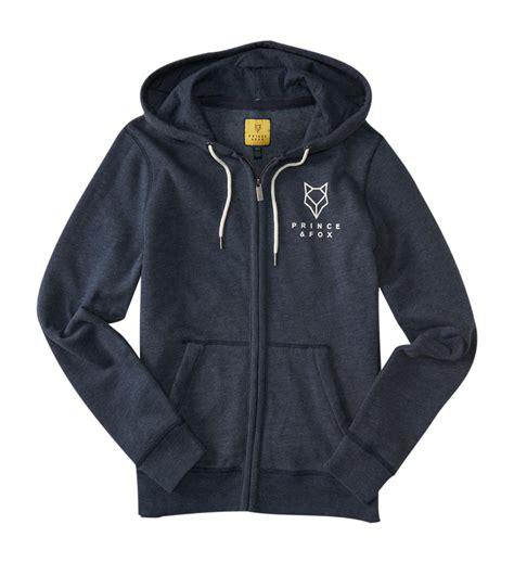 Prince Fox Sweatshirt Sleeve aeropostale mens prince fox oars logo zip hoodie ebay