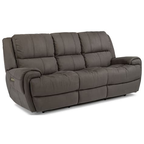 flexsteel latitudes power reclining sofa flexsteel latitudes nance casual power reclining sofa with
