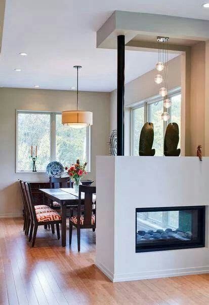modrrna idea  separar ambientes division de sala comedor interiores de casa decoracion
