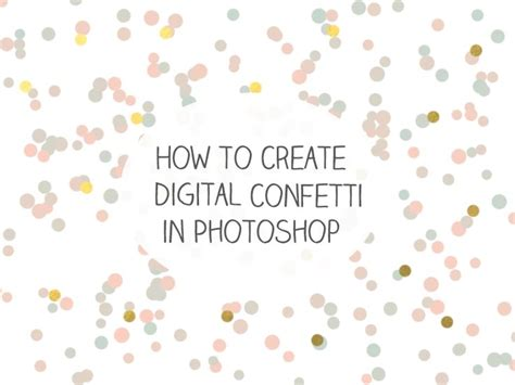 free pattern overlays for photoshop cs5 learn how to create digital confetti in adobe photoshop