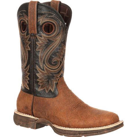 durango western boots rebel by durango s suede and leather western boots