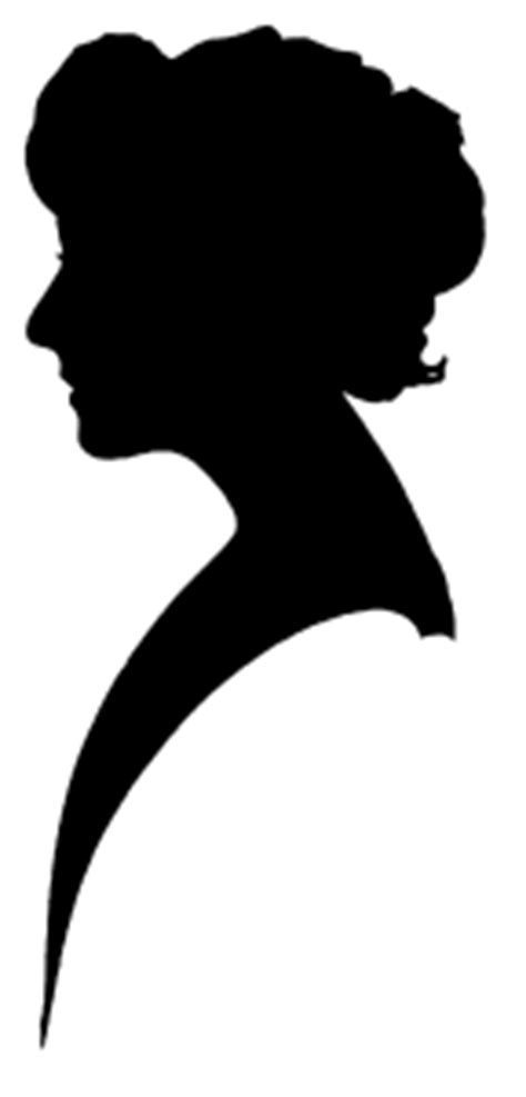 Free Silhouette Clipart - Vintage Women | Call Me Victorian