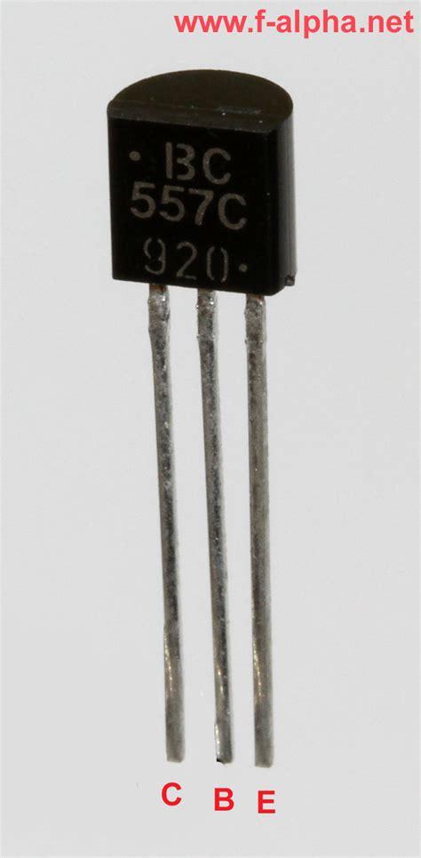 tipe transistor bc557 f alpha net bc 557