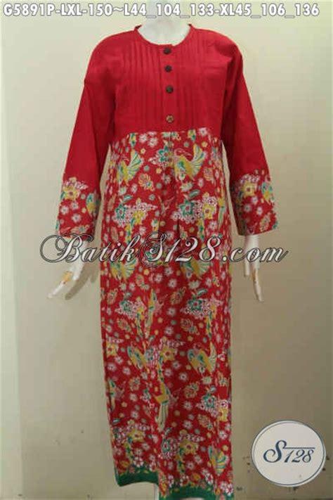 Gamis Batik Anggun busana gamis wanita masa kini pakaian batik muslimah
