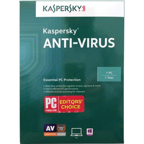 Software Anti Virus Kaspersky For 1 Pcskaspersky Anti Virus For 1 Pcs kaspersky anti virus 2016 kl1167acafs b h photo