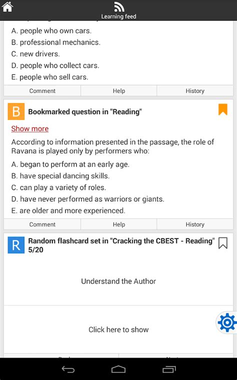 cbest math section cbest test prep android apps on google play