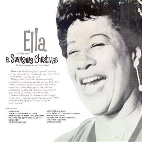 ella fitzgerald wishes you a swinging christmas cover art ella fitzgerald wishes you a swinging christmas