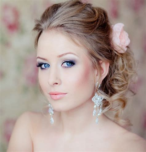 Makeup Bridal 31 gorgeous wedding makeup hairstyle ideas for every