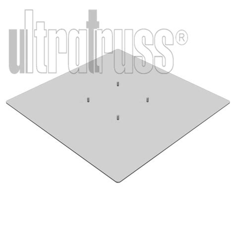 24 inch base square base plate 24 inch