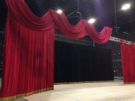 stage draping event stage draping celebrity party planner