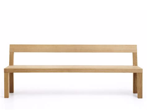 bench more stato bench with back stato collection by more design
