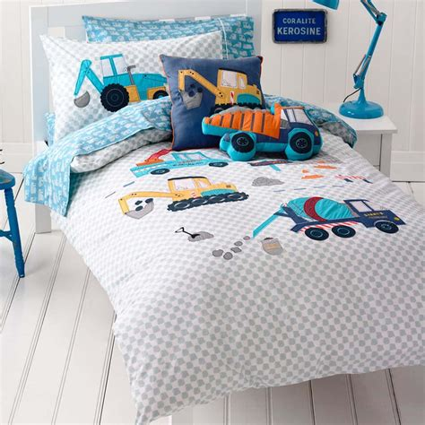 tractor bedding set diggers bedding