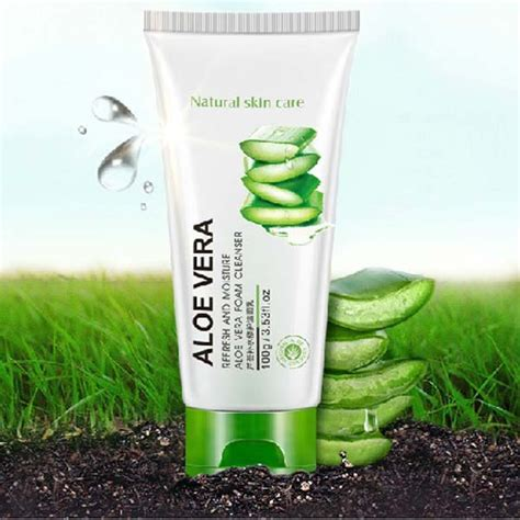 Nature Republic Soothing And Moisture Aloe Vera Cleansing Gel Foam aliexpress buy korea nature republic soothing moisture aloe vera foam cleanser 100ml