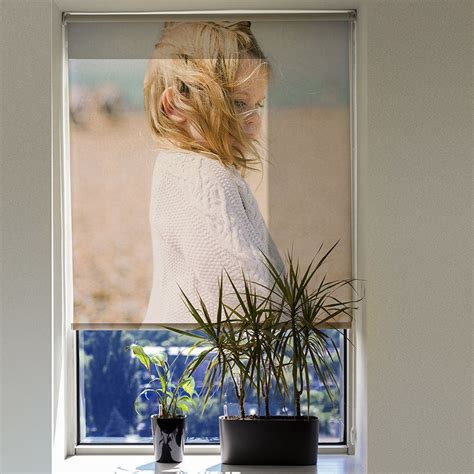 Handcrafted L Shades - custom blinds printed for your window custom roller