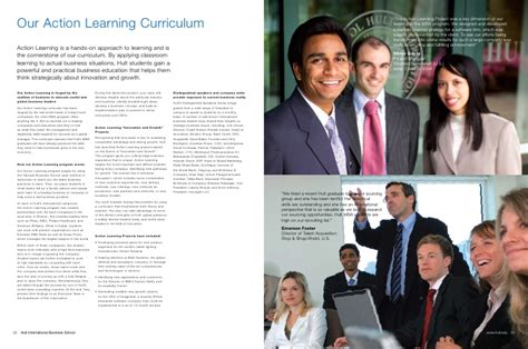 Hult Mba Curriculum by Hult Mba Brochure 2010