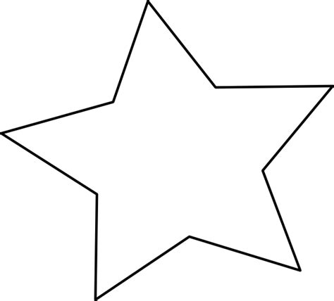 Printable Big Star | large star template to print cliparts co