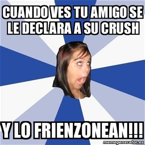 Meme Generator Tumblr - meme annoying facebook girl cuando ves tu amigo se le