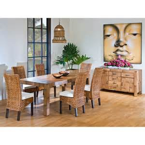 indoor wicker dining room sets marceladick