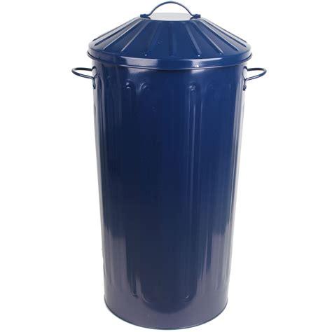 Dustbin Style Kitchen Bin by Metal 50 Litre Kitchen Colour Recycle Dustbin