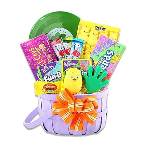 bed bath and beyond easter alder creek delightful easter treats gift basket bed