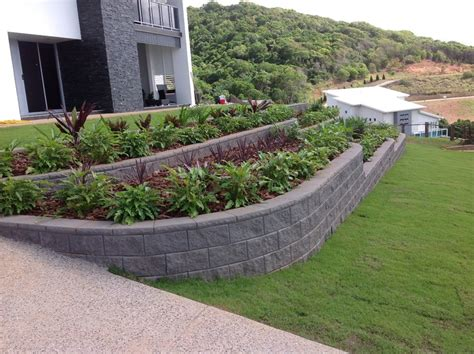 retaining wall for garden gallery apex masonry