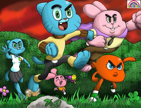 scary time the amazing world of gumball cartoon the movie fan fiction by waniramirez on deviantart