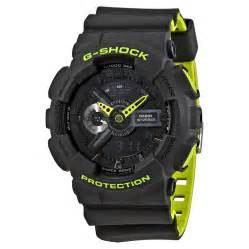 Casio G Shock Black casio g shock black s neon sports ga110ln