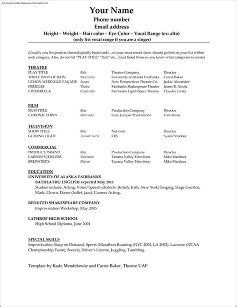 Microsoft Office Resume by Microsoft Office Resume Templates 2013 Free Sles