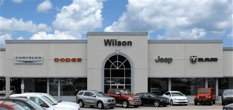 Jeep Dealer Columbia Sc Learn About Wilson Chrysler Dodge Jeep Near Sc