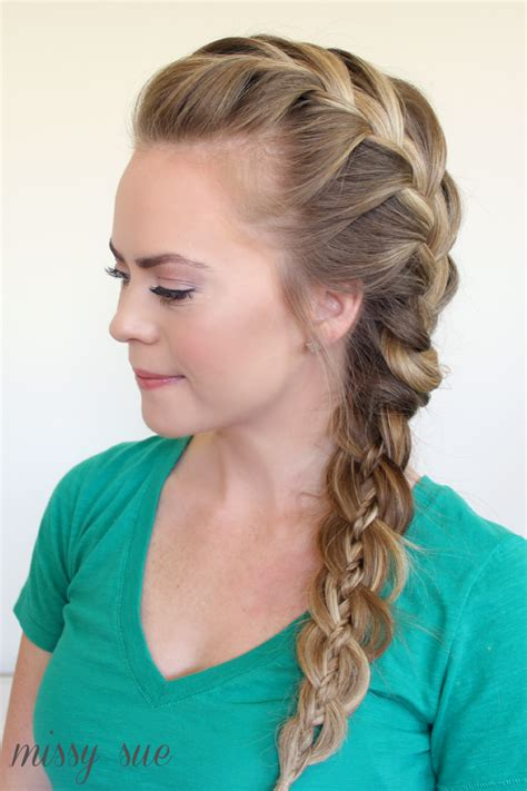 french braided weave french braids ideas for long hairs fashion trend