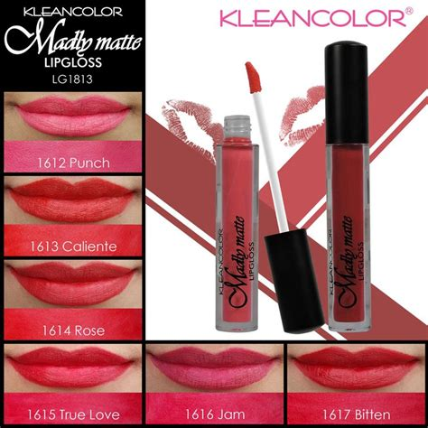 for the shades of lover kleancolor madly matte lip